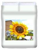 Sunshine In Country Farm Duvet Cover