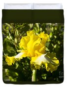 Sunshine Iris Duvet Cover