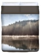 Sunshine Lake Duvet Cover
