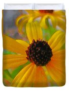 Sunshine On Susan Duvet Cover