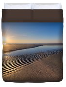 Sunshine On The Beach Duvet Cover