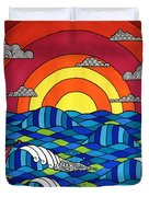 Sunshine Through My Window Duvet Cover by Susan Claire