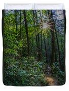 Sunstar Along The Trail Duvet Cover