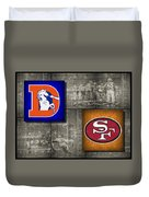 Super Bowl 24 Duvet Cover