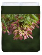 Super Sweet Winged Maple Seeds Duvet Cover