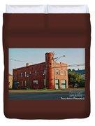 Superior Fire House Duvet Cover