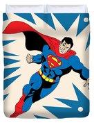 Superman 8 Duvet Cover