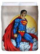 Superman Lives On Duvet Cover