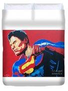 Superman - Red Sky Duvet Cover