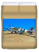 Supermarine Mk959 Spitfire Duvet Cover