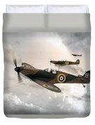 Supermarine Spitfire Mk I Duvet Cover
