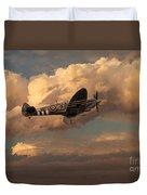 Supermarine Spitfire Mk Lfix  Duvet Cover