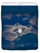 Supermoon Duvet Cover