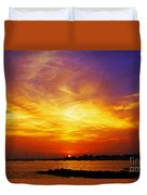 Supersaturated Solution Duvet Cover
