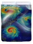 Superstorm Sandy Duvet Cover