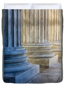 Supreme Court Colunms Duvet Cover