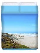 Surf Beach Lompoc California Duvet Cover