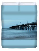 Surf City Pier Soft 2 Duvet Cover