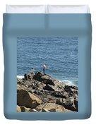 Surf Fishing Duvet Cover