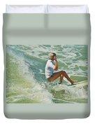 Surfer Hatteras Island 3 7/16 Duvet Cover