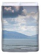 Surfer On The Beach, Inch Strand Duvet Cover