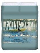 Surfer Sunrise 31 10/2 Duvet Cover