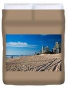 Surfers Beach Duvet Cover