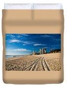 Surfers Paradise Beach South Duvet Cover