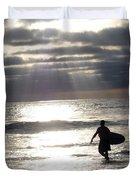 The Surfer Duvet Cover