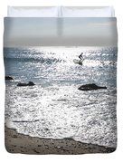 Surfing Mercury Duvet Cover