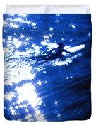 Surfing The Stars Duvet Cover
