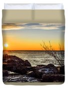 Surprise Sunrise Duvet Cover