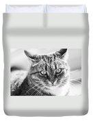 Surprised Cat Duvet Cover