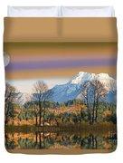 Surreal Landscape-hdr Duvet Cover