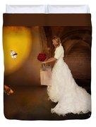 Surreal Wedding Duvet Cover