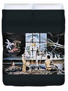 Surreal Windows Of Allegory Duvet Cover
