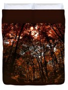 Surrounded By Autumn Duvet Cover