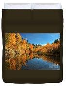 Susan River 11-3-12 Duvet Cover