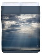 Suspended Between Heaven And Earth Duvet Cover