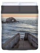 Sutro Sunset Duvet Cover