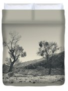 Suvival Can Be Tough Duvet Cover