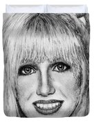 Suzanne Somers In 1977 Duvet Cover