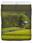Swaledale Landscape Duvet Cover