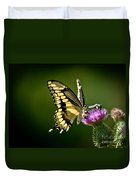 Swallowtail And Friends Duvet Cover