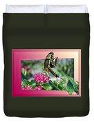 Swallowtail Butterfly 02 Duvet Cover