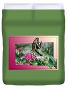 Swallowtail Butterfly 03 Duvet Cover