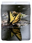 Swallowtail - Butterfly - Reflections Duvet Cover