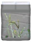 Swallowtail Feast Duvet Cover