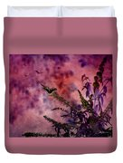 Swallowtail In The Butterfly Bush - Featured In The Wildlife And Comfortable Art And Newbies Groups Duvet Cover