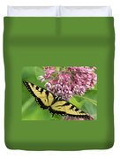 Swallowtail Notecard Duvet Cover